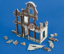 Verlinden 1/48 Ruined 3-Story Building Sections [Resin Diorama Model] 2248