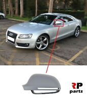 FOR AUDI A5 S5  2007-2009 NEW WING MIRROR COVER CAP PRIMED BLIS SYSTEM LEFT N/S