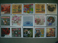50 x 3-D Depesche Grußkarten Glückwunschkarten Klappkarten  UVP 3,95€ NEU