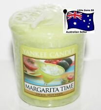 YANKEE CANDLE Votive Candle * Margarita Time * 15 HOURS BURNING * BEACH  *