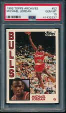 PSA 10 MICHAEL JORDAN 1992-93 Topps Archives #52 Bulls GOAT ULTRA RARE GEM MINT
