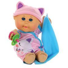 "Cabbage Patch Kids 12.5"" Naptime Babies - Bald/Blue Eye Girl (Pink Stripe"