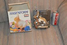 Hasenform Rabbit Mould New in Box With Original Kaiser backform W. Germany made