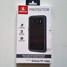 Pelican Protector Case Samsung Galaxy S7 Edge Rugged Black Brand NEW!