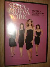 DVD SEXO EN NUEVA YORK PRIMERA TEMPORADA EPISODIOS 1 Y 2