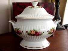 Royal Albert OLD COUNTRY ROSES Footed Soup Tureen  NEW!