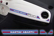 Adesivo Stickers Fiat 500 plancia Abarth MARTINI Racing