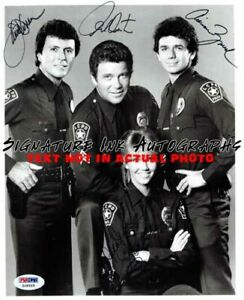 TJ Hooker Cast Signed 8x10 Autographed Photo reprint