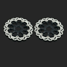 Front Floating Brake Disc Rotor For KAWASAKI ZX7R ZX7RR NINJA N1 ZX9R ZZR 1100