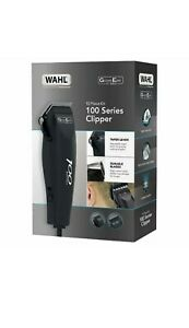 Wahl 100 Series Hair Cutting Kit Mains Clipper 10 Piece Kit Trimmer 1mm - 13mm