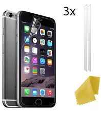 3 x Clear Plastic Screen Guard LCD Protector Film Layer For Apple iPhone 6s