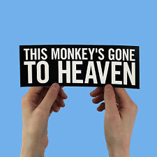 "The Pixies Lyric Sticker! ""Monkey Gone to Heaven"" doolittle surfer rosa, nirvana"