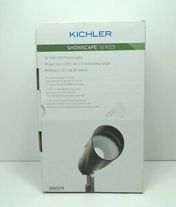 Kichler Low Voltage LED Landscape Light 28313 3W 150 Lumen Olde BronzeFree Ship
