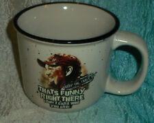 Larry The Cable Guy Excellent Ceramic Camfire White Coffee Tea Mug That is Funny