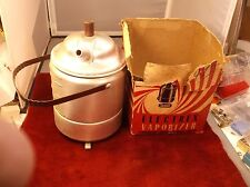 "RARE VTG ""ELECTREX"" BRAND (REXALL STORES) ELECTRIC VAPORIZER, BOX, PAPERS, CORD"