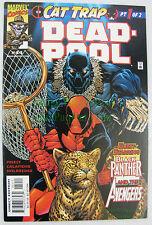 DEADPOOL #44 CAT TRAP STORYLINE Black Panter SCARCE VHTF X-Cellent Copy! Movies