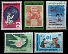 Birma 1974 - Mi-Nr. 239-243 ** - MNH - UPU