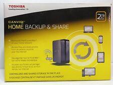 Toshiba Canvio Home Backup and Share 2TB (HDNB120XKEK1)