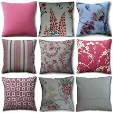Designer Cushion Covers handmade in Laura Ashley Cranberry Red Fabrics Various