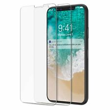 2x Panzerglas Panzerfolie iPhone X 10 Schutzglas Schutzfolie Glasfolie Folie