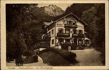 Partenkirchen Wildenau Bayern Bavaria AK ~1920/30 Gasthof Partnachklamm Gasthaus