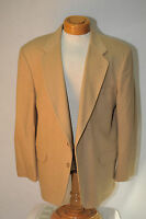 Club Room by Macy's 100% Camel Hair 2 Button Sport Coat Size 44R