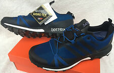Adidas Terrex Agravic GTX AF6119 Outdoor Gore-Tex Trail Running Shoes Men's 9.5