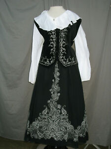Victorian Dress Renaissance Costume Colonial Style Prairie Western Reenactment