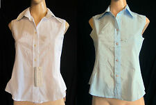 Cotton Blend Business Petite Tops & Shirts for Women