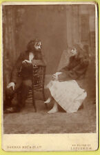 Cabinet Photo - Theatre, Scence from Play? - Norman May & Co. Ltd. - London S.W.
