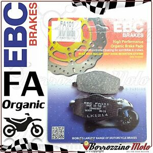 PASTIGLIE FRENO POSTERIORE EBC FA101 YAMAHA XTZ TENERE 660 1991-1998