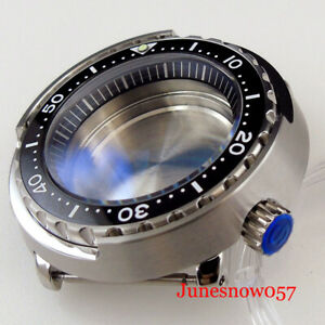 20ATM Water Proof Automatic Diving Watch Case fit NH35A NH36A SKX007 Sapphire