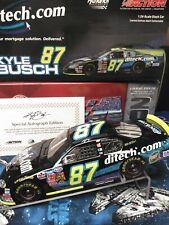 Kyle Busch Autographed ROOKIE #87 Ditech.com 2003 Chevy Monte Carlo RARE