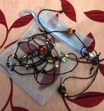 on cord bracelets 8 little bead