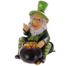 Lucky Leprechaun Money Box Eire Irish Ireland Piggy Bank Souvenir Gift Ornament