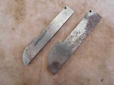 """Cutters / Irons Stanley No. 55 Are No. 73 & 75 - 5/8 & 7/8"""" Quarter Round (G155"""