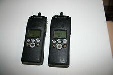 LOT of 2  Motorola XTS2000 VHF Portable Model II, P25 Trunking, P25 Conv, ADP