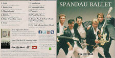Spandau Ballet  CD from The Mail on Sunday in card slip sleeve UK CD