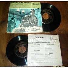 JOSH WHITE - Ballads And Blues French EP Brunswick 1957