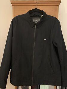 Levis Black Mens Jacket Size Medium - Excellent Condition