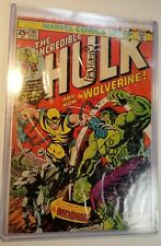 Incredible Hulk #181 Wolverine 1st P Comic Book Signed Stan Lee Wein Ferrigno
