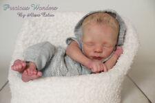 ~Leif~ Asleep~ Realborn Reborn kit by Bountiful Baby *Blank vinyl kit*