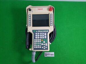 NACHI ROBOTICS AXTP FS0N-EC10 TEACH PENDANT (USED) DHL INT'L SHIPPING
