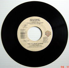 1977'S 45 R.P.M. RECORD, ROD STEWART, YOU'RE IN MY HEART +THIS OLD HEART OF MINE