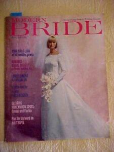 June/July 1965 MODERN BRIDE Magazine