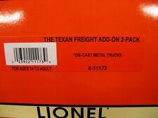LIONEL 11173 – 26634/37025 Texan Set Add-on 2 Pak – NIB – OG – C9/P9