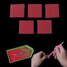 15Pcs DIY 5D Diamond Painting Glue Clay Embroidery 2x2cm Cross Stich Tool