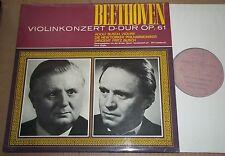 Adolf & Fritz Busch BEETHOVEN Violin Concerto - Electrola 12 PAL 3902/3