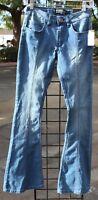 Rue 21 Flare Light Blue Jeans Twenty One Black NWT High Waist bell Bottom Style