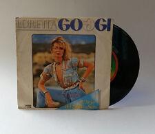 Loretta Goggi L'Aria del Sabato Sera Dispari 45 Giri Vinile Vinyl 7
